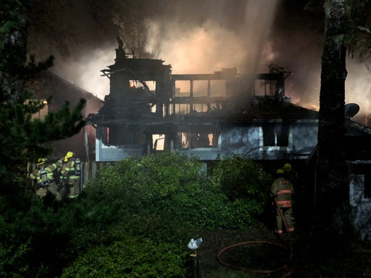 A fire in the 2100 block of S. Columbia Street in Seaside left one man dead Monday, Feb. 24.