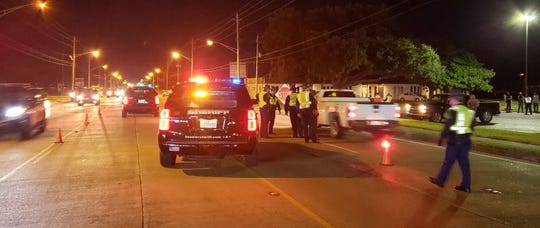 More than 400 vehicles were screened, and 11 arrests were made in an overnight sobriety checkpoint this past weekend in Bossier City.