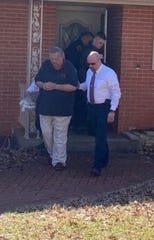 Frederick Lutz was arrested last week at his home in Springfield.