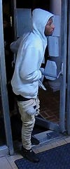 Police believe this man could be a suspect in an armed robbery that was recently reported at Mary Baldwin University.