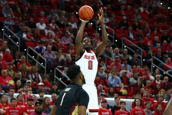 "N.C. State redshirt senior DJ Funderburk said the anticipation leading up to the start of the season has been like ""constantly winding up one of those little toy cars and letting it go before you put it on the tracks."""