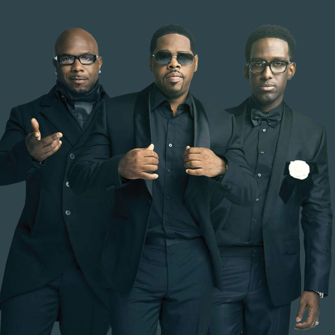 Boyz II Men will play Capital City Amphitheater at Cascades Park on Saturday. General admission is $40; $55-$75 for reserved seats.
