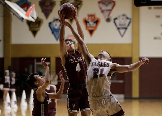 Andress defeated Ysleta in their 5A bi-district playoff game Monday at Andress High School.