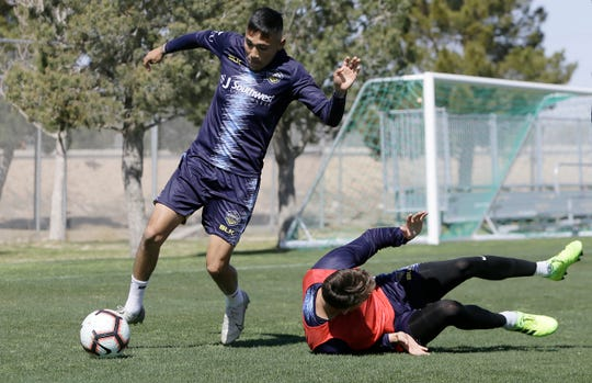 The El Paso Locomotive are hoping to build on the success of their inaugural season under head coach Mark Lowry. They practiced Tuesday at the Westside Sports Complex.