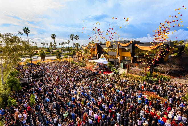 The Church of Scientology celebrated the grand opening of its Ventura church on Saturday, Feb. 22, 2020.  The church on Monday apologized to the Ventura City Council for releasing balloons and pledged to clean up beaches.