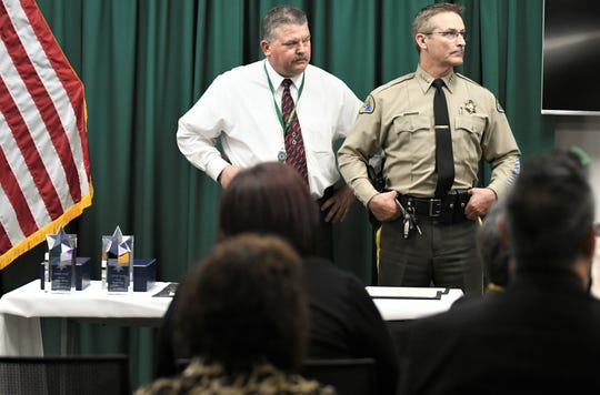 Tulare County Sheriff's Department presented employees and members of the public recognition awards on Tuesday, February 25, 2020.
