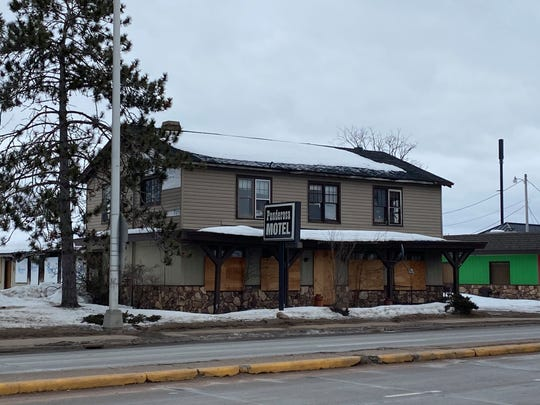 The former Ponderosa Motel, pictured here on Feb. 25, 2020.