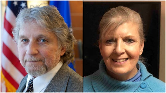 The candidates for Wausau's 4th City Council district, incumbent Tom Neal, left and Judith Miller.