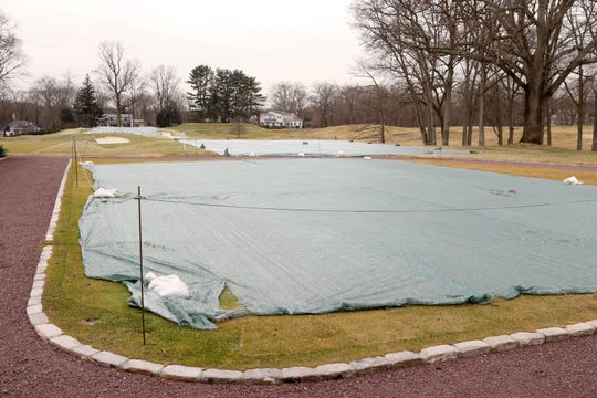 The 10th hole with a new tee at Winged Foot Golf Club in Mamaroneck Feb. 24, 2020 as preparations are underway for the U.S. Open.