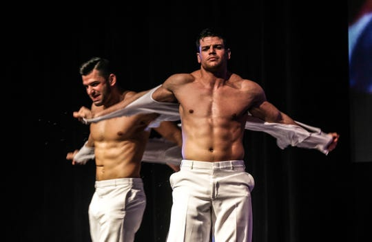The Chippendales will perform at The Queen in Wilmington on Feb. 28.