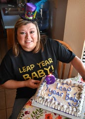 Mandy Young will get to celebrate her actual birthday this year as she was born on February 29th, 1984, a leap year.