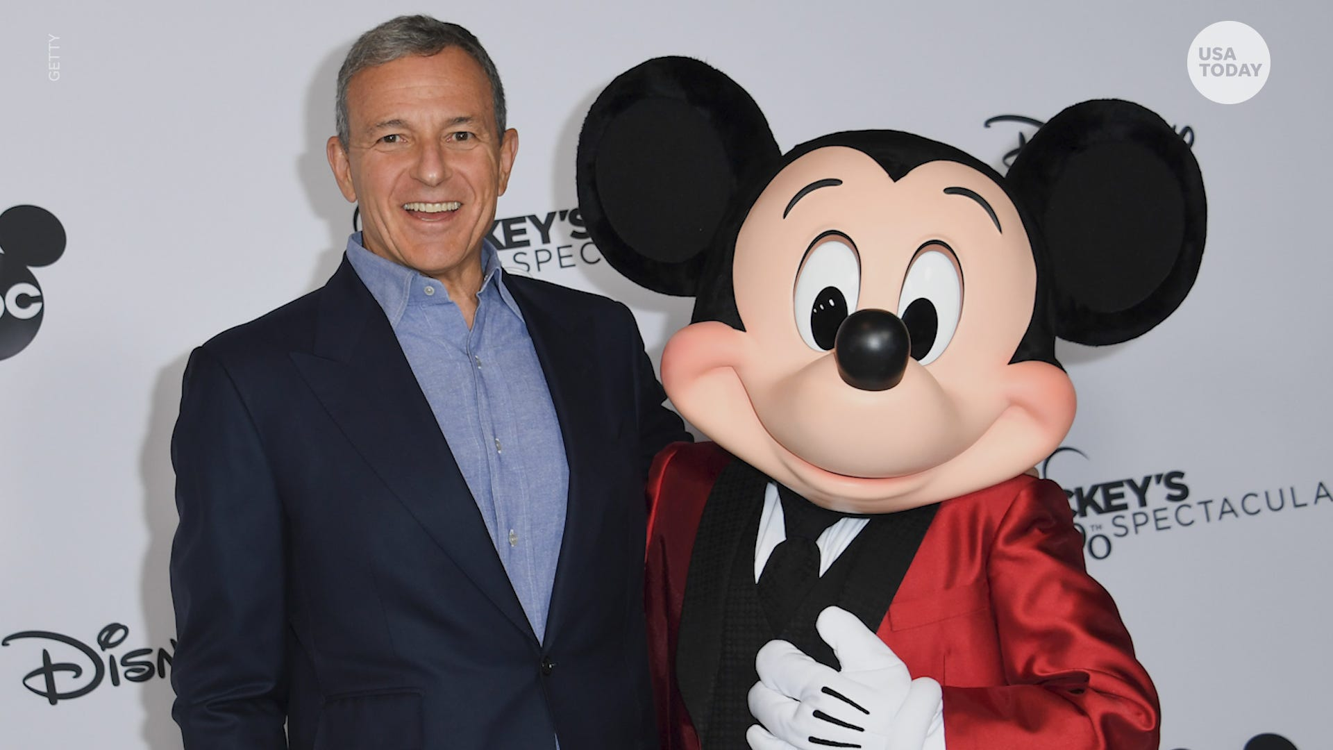 Walt Disney CEO Bob Iger Steps Down