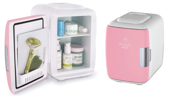 Stock the Cooluli Mini Fridge with your favorite skincare products.