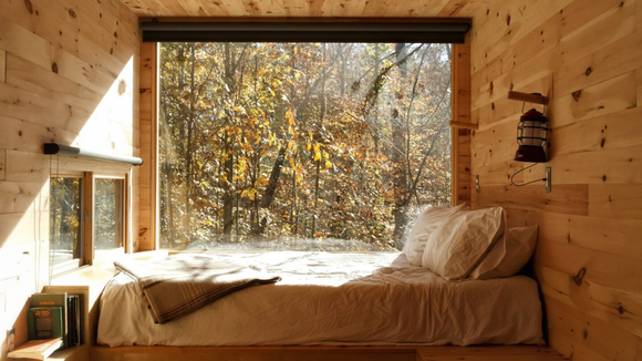 If you need a break from your screen for the weekend, a Getaway cabin is the way to go.