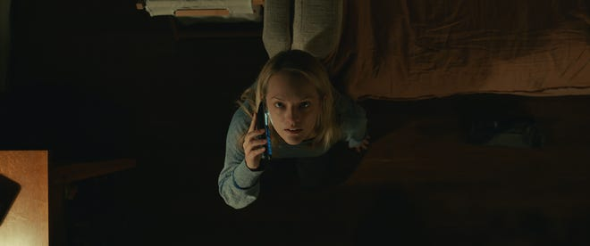 """Elisabeth Moss stars as a woman terrorized by an unseen force she believes to be her abusive ex in """"The Invisible Man."""""""