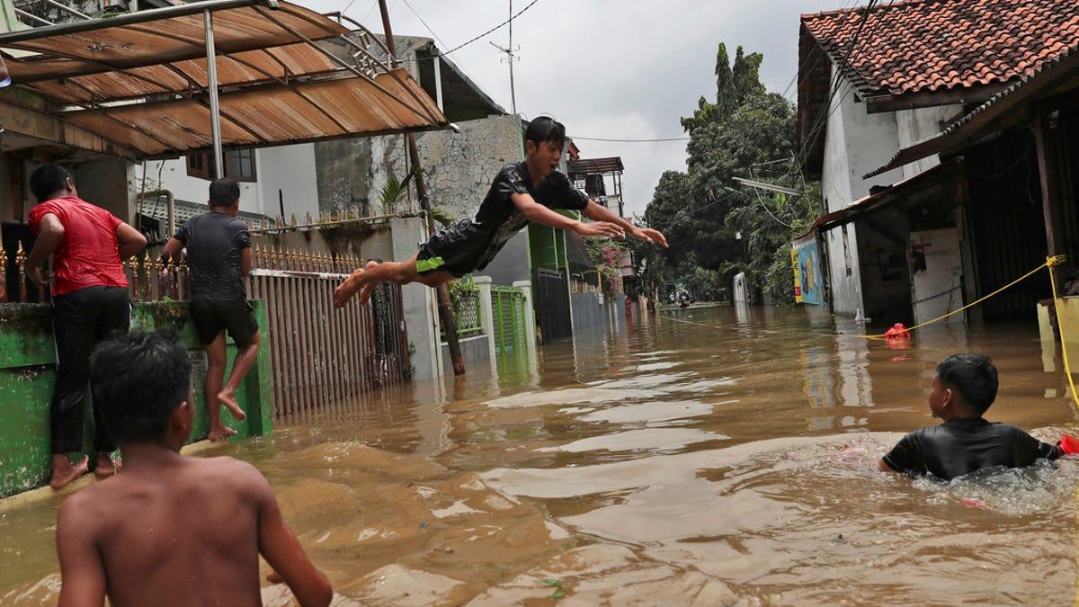 Jakarta floods 2020: Flooding, rain submerges Indonesia capital