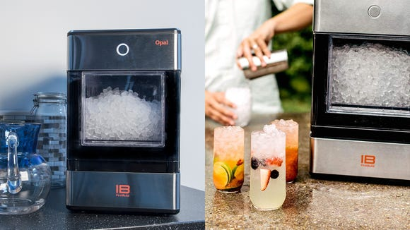 Chomp on the beloved Sonic ice with the Opal Nugget Ice Maker.