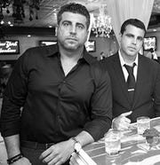 Kosta, left, and Demetri Rexinis, owners of the former Club Abyss.