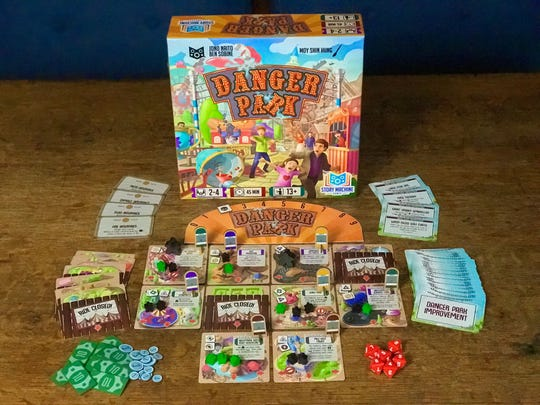Danger Park, a board game inspired by Action Park.
