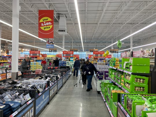 Lidl opened its Route 9 store in Howell on Thursday.