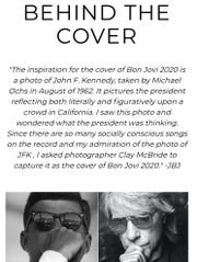"""Behind the cover of """"Bon Jovi 2020."""""""