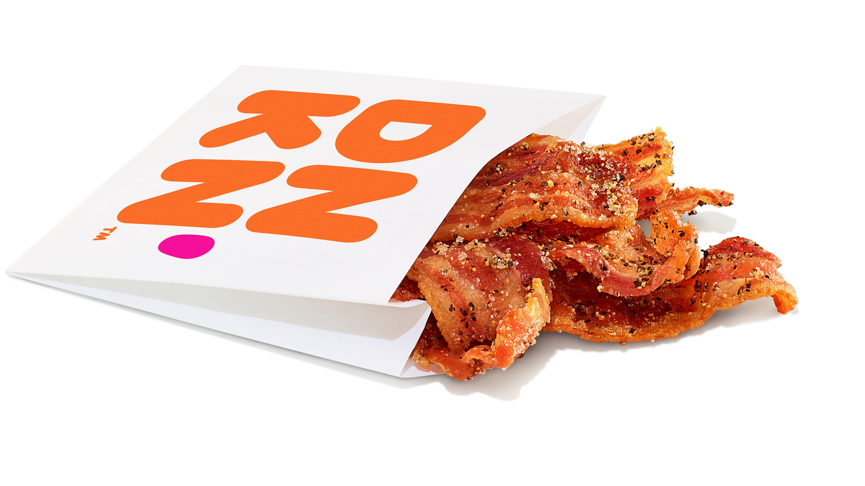 Pork yeah: Dunkin' Donuts debuts bacon strip snack sleeves