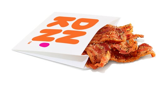 This is what snacking bacon looks like.