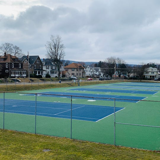 These courts will be renovated and named the Harper M. Stanz Memorial Courts at Recreation Park.