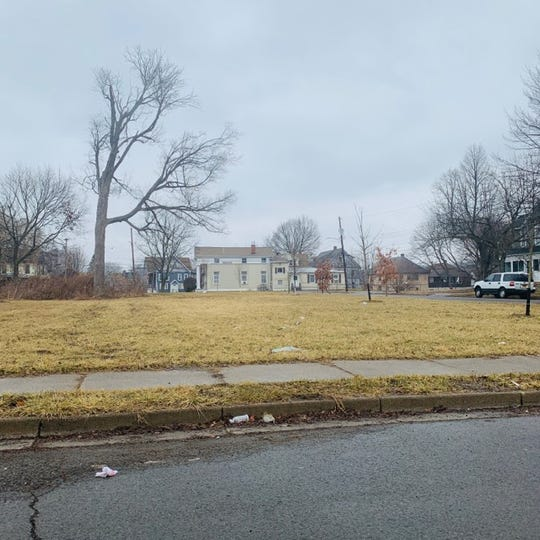 This lot at the corner of Liberty and Virgil streets will be used for housing on the North Side.