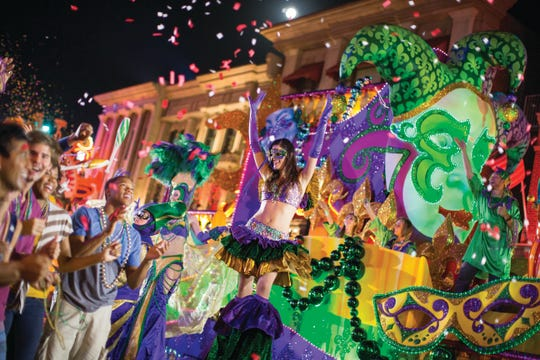 Universal Orlando Resort's 25th annual Mardi Gras celebration is a family-friendly version of the iconic Big Easy bash that features a spectacular nightly parade, authentic Cajun-style cuisine and – on select nights – live concerts by a star-studded lineup of musical artists. This year's event runs through April 2.