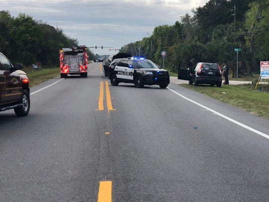 Titusville police investigating a head-on collision on State Road 405.