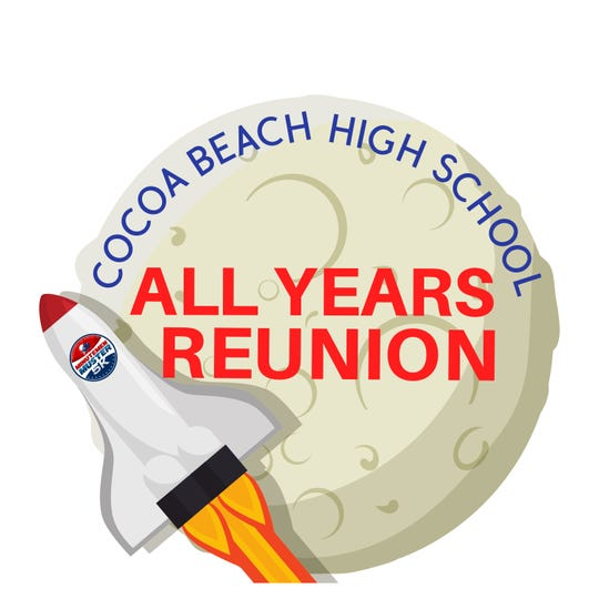 The CBHS All Years Reunion Weekend, April 17-18, 2020, will raise funds to support Get On Track, the community initiative to replace Cocoa Beach High's dilapidated track.