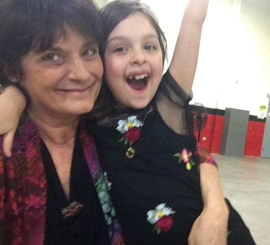 """FLORIDA TODAY columnist Britt Kennerly, an award-winning journalist pictured here with her niece Emmy Moore, writes that the label """"baby boomer"""" doesn't define her."""