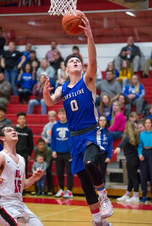 Crestline's Kaden Ronk earned Special Mention All-Ohio honors this year.