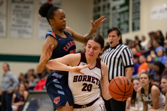 Flour Bluff's Gloria Geurin and Carroll's Maya Simon were each named to the All-Region IV-5A by the Texas Association of Basketball Coaches.