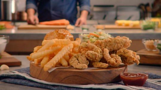 Church's will offer Garlic Butter Shrimp 'N' Tenders platter and other garlic butter seafood platters during the Lenten season.