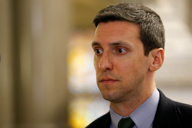 Suspended Cincinnati City Councilman P.G. Sittenfeld (Enquirer file)
