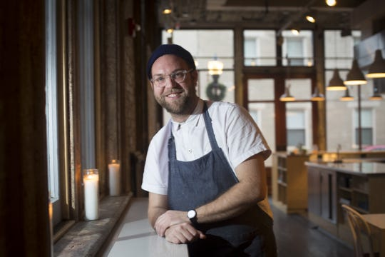 Tue., Jan. 10, 2017:  Ryan Santos, owner and chef of Please in Over-the-Rhine.