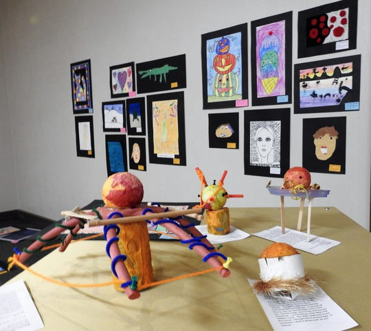 Playground of Color will be on display during March at the Johnson-Humrickhouse Museum in Roscoe Village.