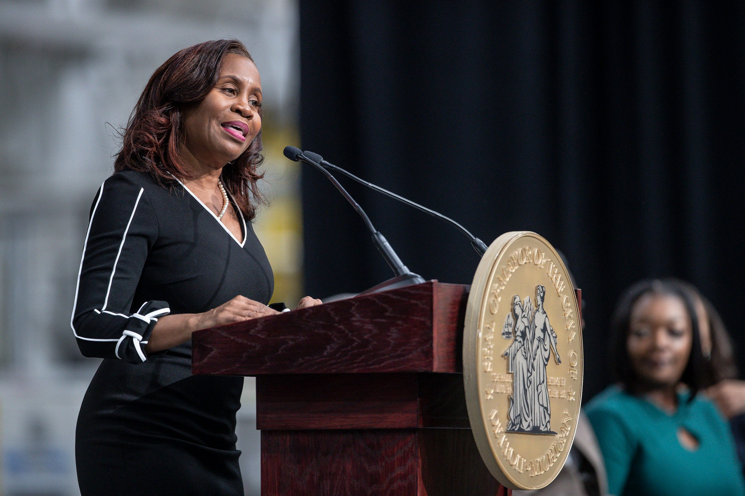 Detroit city clerk Janice Winfrey dominates primary election, will face Denzel McCampbell