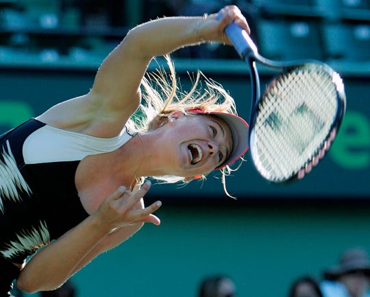 Maria Sharapova announced her retirement on Wednesday.