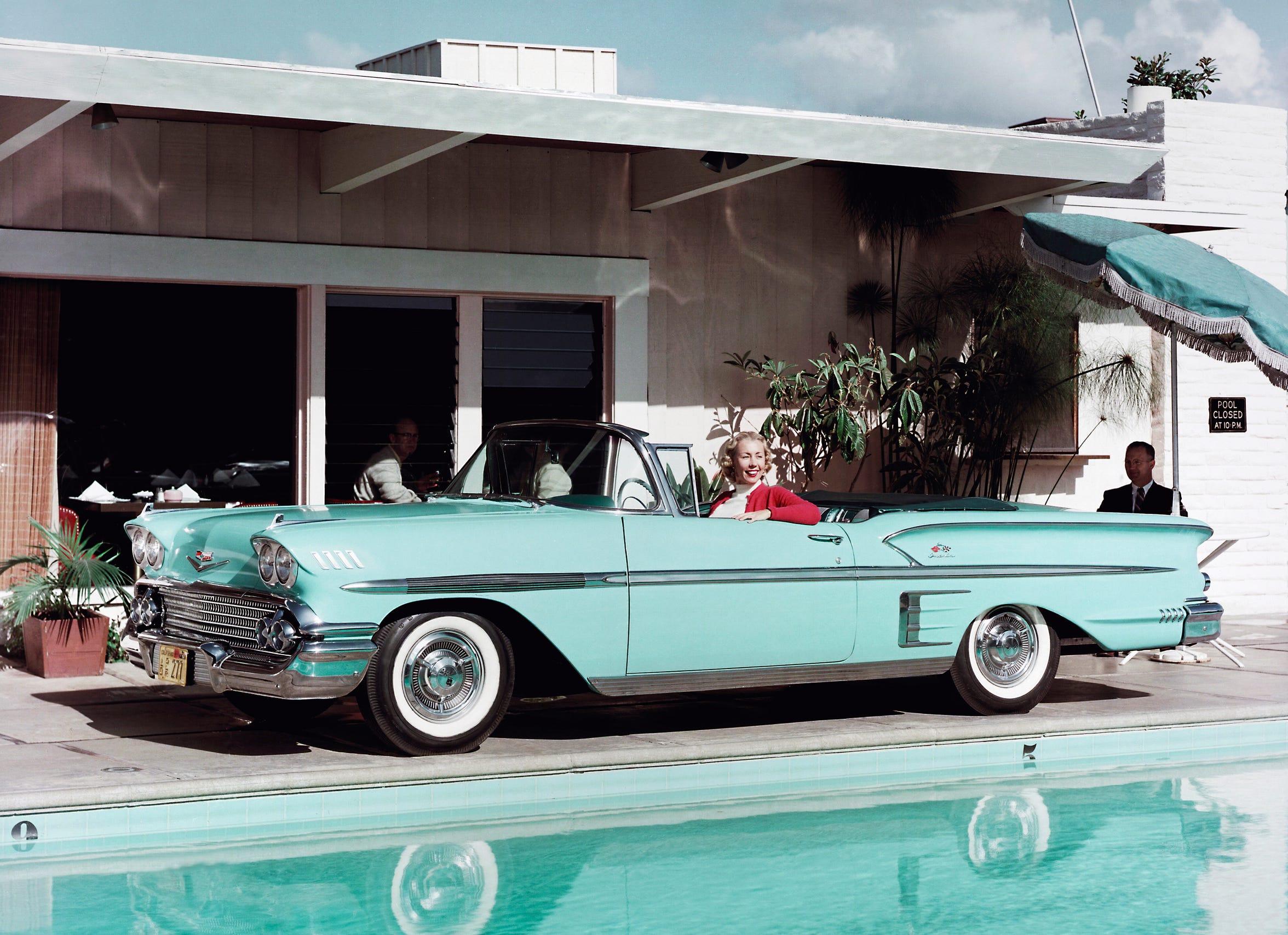 1958 Chevrolet Bel Air Impala Convertible