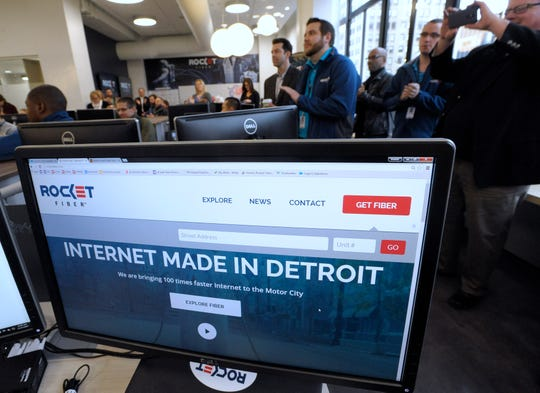 Detroit-based Rocket Fiber will be acquired by a Cleveland company.