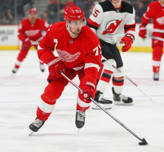 Red Wings' Dylan Larkin
