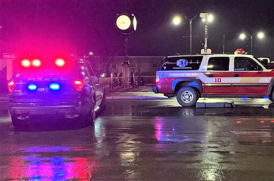 A Horseheads woman was killed when she was struck by a car while crossing South Main Street in Horseheads on Tuesday evening.