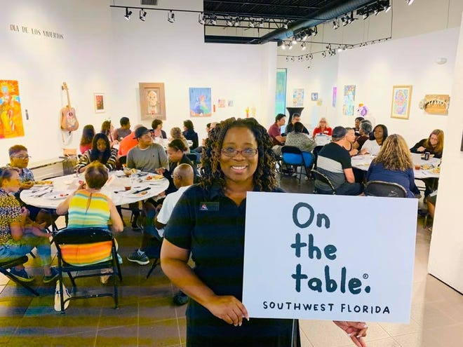 On the Table gatherings took place over the course of a single day and provided a chance to hear from an array of residents as they gathered over mealtime conversations.