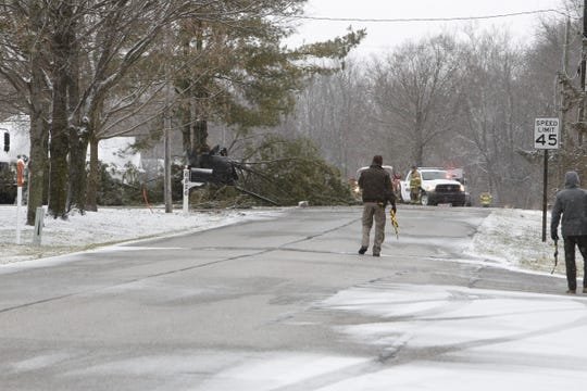 Two people died and a third was critically injured Wednesday morning, Feb. 26, 2020, after a driver lost control of his car on Tippecanoe County Road 100 North east of County Road 675 East.