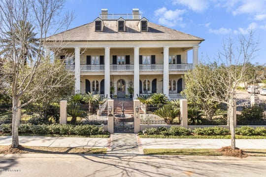 The views of the Vermilion River from a two-story window in this 7,000-square-foot mansion listed for $4.9 million are just the tip of the iceberg.