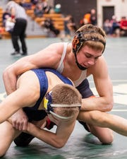 Eddie Homrock and his Brighton wrestling teammates hope to return to the state Division 1 wrestling championship match Saturday in Kalamazoo.