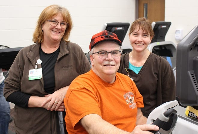 When Kris Patterson finished his rehabilitation at McLaren Greater Lansing Pulmonary Rehabilitation, he was able to achieve incredibly rare accomplishments.